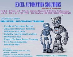 #Excel_Automation_Solutions, Chennai, India (ISO 9001: 2008 & IAO Accredited) Organization provides specialist Engineering, Commissioning and start-up services to our clients worldwide in Oil, Gas, Petrochemical, Offshore and Power Industries.