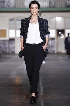 AMI Alexandre Mattiussi Menswear Spring Summer 2015 Paris - NOWFASHION