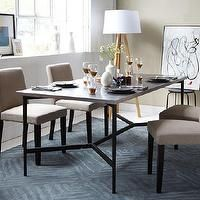 ikea table legs | Tables - Mix + Match Table - Metal Base / Stainless Steel Top | west ...