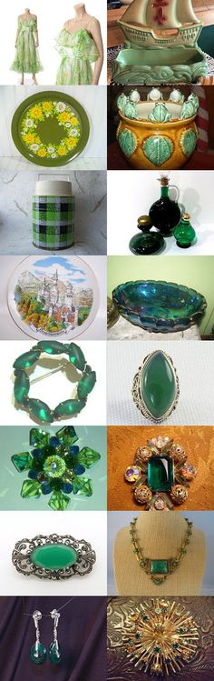 Taking a Break from the Winter Doldrums and Dreaming of Spring Vintage Explosion by Maria and John on Etsy--Pinned with TreasuryPin.com