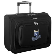 MLB Kansas City Royals Wheeled Laptop Overnighter