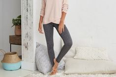 Aerie Hi-Rise Play Legging by Aerie for American Eagle Outfitters | Some girls sweat