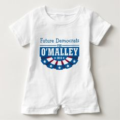 Personalize Your Group for Martin O'Malley T-Shirt You or your group can show your support for Martin O'Malley for President in the 2016 Election with this fun patriotic bunting t-shirt design that is customizable with the name of your group, such as Veterans, Women, Men, Occupation, State, County, Demonym or Union.