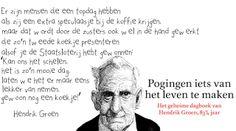 IK KAN VLIEGEN...: Hendrik Groen