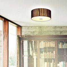 s.LUCE Deckenlampe »Twine braun Ø 30 cm«