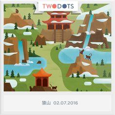 幸運メダルを手に入れたぞ!キミも幸運を手に入れられるかな? 今すぐプレイしよう #twodots - playtwo.do/ts #TwoDots