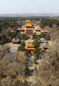 航拍满洲盛京 女真-满洲 民族崛起 建国可汗努尔哈赤陵寝福陵(东陵)