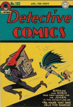 Batman is the best, Cover for Detective Comics (DC, 1937 series) #102