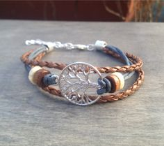 Tree of Life Bracelet Celtic Bohemian Bracelet Native American Tribal Bracelet Irish bracelet viking bracelet