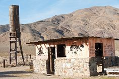 Garlock California, Mojave Desert, abandoned building