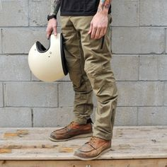 Aether Compass Pants - Brown - Motorcycle Pants