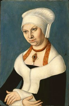 Portrait of Barbara Duchess of Saxony (1478-1534)