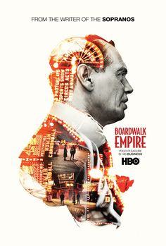 Boardwalk Empire poster HBO | design: Marcell Bandicksson aka City Rain Design via Digital Arts Online Portfolio (slide_7) August 2012