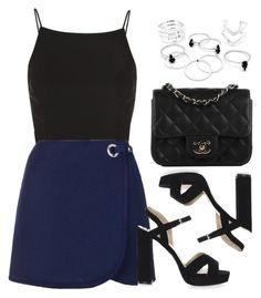 """""""Style #11089"""" by vany-alvarado ❤ liked on Polyvore featuring Topshop and Chanel"""