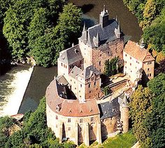 Sachsen Burg Kriebstein - Burgen, Schlösser und Festungen - Geschichte und Reenactment