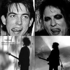 Robert Smith then and now