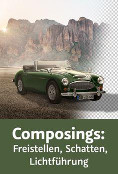 Composings: Freistellen, Schatten, Lichtführung-Photoshop Training Photoshop Training, Fails, Random, Design, Shadows, Design Comics, Casual, Thread Spools