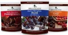 Brookside dark chocolate covered berries.     A nice treat!  I like!