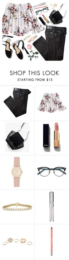 """11-4-2017"" by anamarija00 ❤ liked on Polyvore featuring BRAX, Chanel, Ace, Chantecaille, GUESS, Urban Decay and Spring"