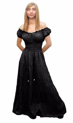 RENAISSANCE DRESS MEDIEVAL COTTON COSTUME PIRATE BOHO PEASANT WENCH VICTORIAN   eBay