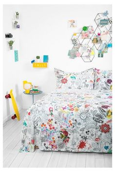 Desigual Satin finish sheets. Reinvent your home!