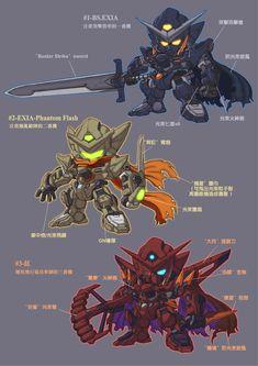Gundam Toys, Gundam 00, Custom Gundam, Gunpla Custom, Character Art, Character Design, Android Art, Gundam Wallpapers, Cool Robots