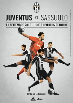 Juventus match day promotions - Poster 2 on Behance