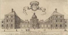 Vue et Perspective du Palais d'Orleans, cy devant l'Hostel de Luxembourg, et, de plusieurs autres lieux de Paris, et des environs. | Paris Musées