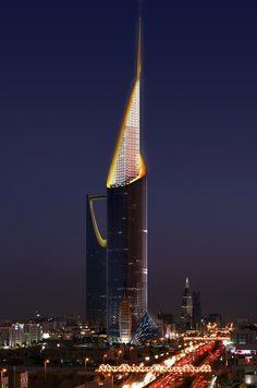 Saudi Arabia,Riyadh: Fawaz Alhokair Tower
