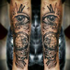 Bildergebnis für inner arm sleeve tattoos for women Arm Sleeve Tattoos For Women, Forearm Sleeve Tattoos, Body Art Tattoos, Tatoos, Trendy Tattoos, Unique Tattoos, Small Tattoos, Tattoos For Guys, Pocket Watch Tattoos