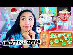 ▶ What To Do On Christmas! :Decor, Treats, Outfit + More for a DIY Holiday Sleepover! - YouTube