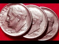 1987 Dimes: Look For Misplaced Mint Marks Show Me The Money, How To Make Money, Old Coins For Sale, Old Coins Worth Money, Valuable Coins, All Currency, Error Coins, Coin Worth, Dollar Coin