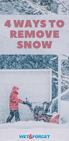 Snow removal can be a pain. Make sure you've got the proper tools to remove snow in no time. Holiday Fun, Holiday Ideas, Shoveling Snow, Winter Holidays, Beautiful Homes, Outdoor Living, Living Spaces, How To Remove, Tools