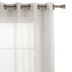 "Designer Collection - Ondas Sheer Curtain - length 96""/SHEER/CURTAINS/WINDOWS|Bouclair.com"