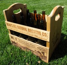 Beau's New 12 Packs - Wooden Crates
