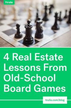 4 Real Estate Lessons From Old-School Board Games Old School Board Games, Old Board Games, Becoming A Realtor, Real Estate School, Boards, Place Card Holders, Health, Planks, Health Care