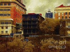 Title  September Along The Hudson   Artist  RC deWinter   Medium  Painting - Digital Oils