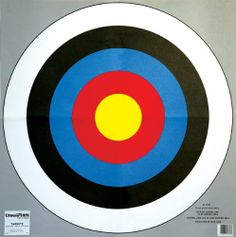Champion 24-Inch Bullseye Archery Target (2-pack) by Champion