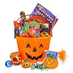 Halloween Toy Filled Pumpkin Bucket F…