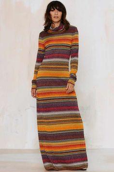 Vintage Moschino Hail the Maxi Dress