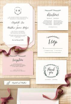 Always wedding invitation by Susan Brown @minted