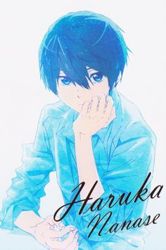 Starting Days - Haruka Nanase looks like all he wants is water Free Eternal Summer, Anime Guys, Manga Anime, Anime Art, Kyoto Animation, Animation Film, Karma Y Nagisa, Haruka Nanase, Makoharu