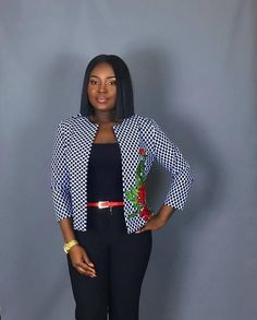 Super Stylish Ankara Jackets For Queens African Print Dress Designs, African Design, Blazers For Women, Suits For Women, Jackets For Women, Yellow Wedding Guest Dresses, Ankara Jackets, Latest African Fashion Dresses, Queens