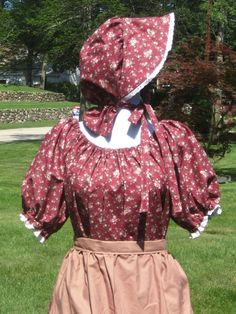 Girls teen Pioneer Prairie Colonial Civil War Dress by countrybarn, $49.99