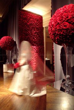 Just how I want the roses to be at  My wedding