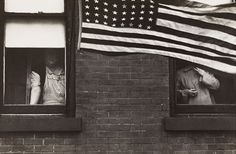 Robert Frank: Parade – Hoboken, New Jersey. from The Americans (1955)