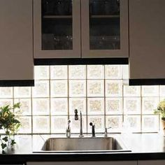 1000 images about glass block in kitchen designs on for Glass block window design ideas