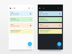 Note android App - UX/UI design designed by Iftikhar Shaikh. Connect with them on Dribbble; Ui Ux Design, Graphic Design, Mobile App Ui, Project, Screen Design, Mobile Design, Mobile Application, Material Design, User Interface