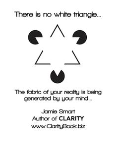 Clarity: How Perception is Created (by Jamie Smart) ♯Clarity ♯InnateThinking Life Coaching, Little Books, Perception, Clarity, Insight, Mindfulness, Author, Life Advice, Writers