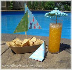 Adinoela Recebe: tema festa na piscina